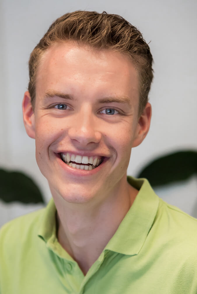 Physiotherapeut Hannes Krebs