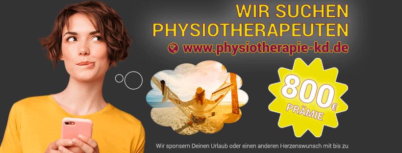 Physiotherapeuten gesucht - Praxis Kirstin Drichel